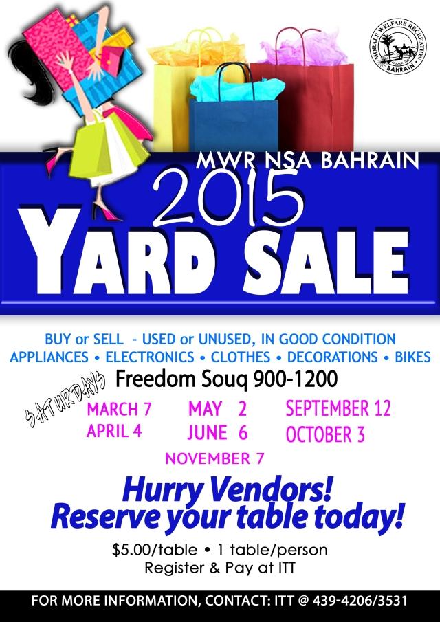 2015Yard Sale