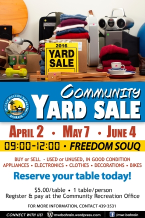 Community Yard Sales2016